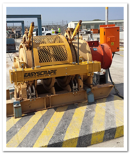 Picture of the EasyScrape machine