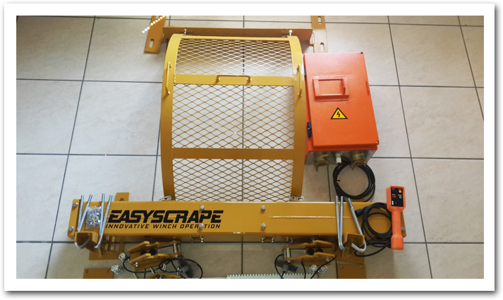 Picture of the easyscrape system